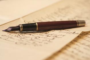 pen en handschrift klein